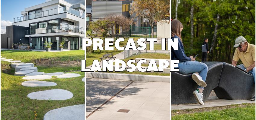 Nominaties – Precast in Landscape